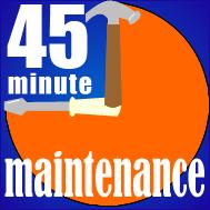 45 Min Maint